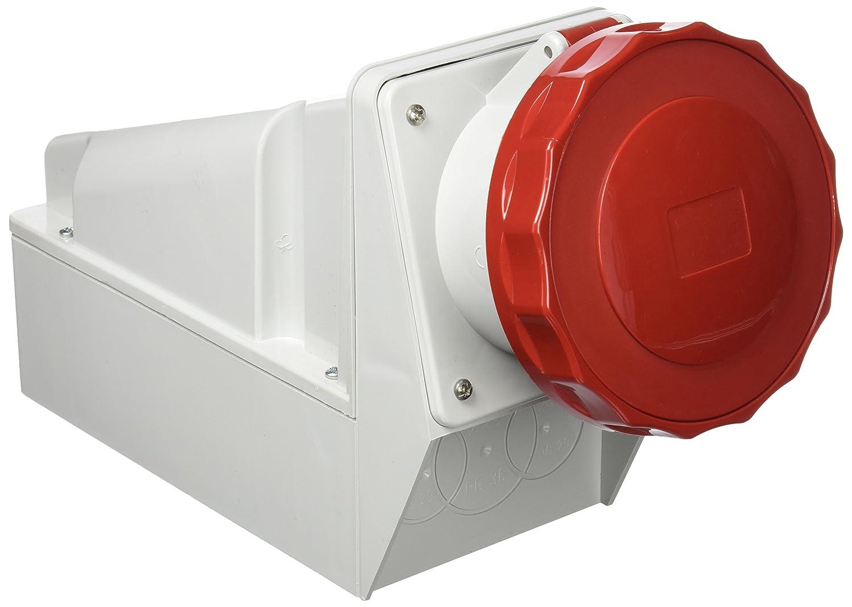 Bianco Schneider 81195 Presa Parete Ip67 3Pnt 125A 380V
