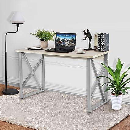 Exceptionnel Office Computer Desk, 47u201d Modern Simple Style PC Laptop Table Office Desk  Workstation For