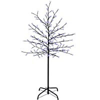 WeRChristmas Pre-Lit 200 LED Illuminated Cherry Blossom Tree, 5 ft/1.5 m