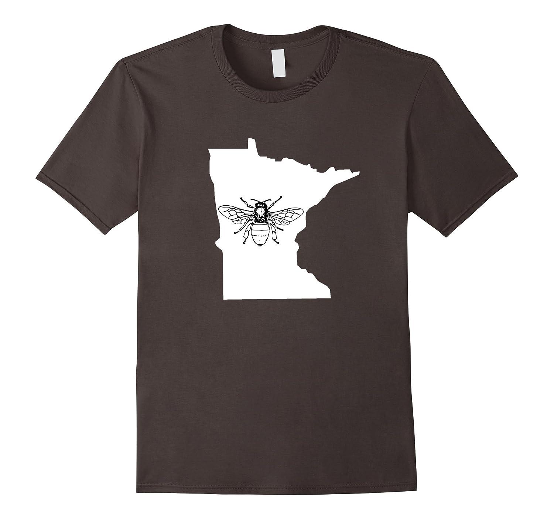 Minnesota Bee Lover Shirt, Beekeeper T Shirt, Beekeeping-Teevkd