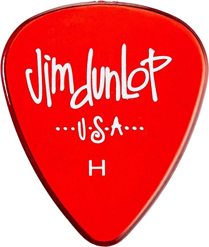 Dava Jim Dunlop Grip Tips Cherry Gels Players Pack 6 Pack