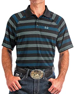 3de2bac2 Cinch Men's Arenaflex Polo Shirt at Amazon Men's Clothing store: