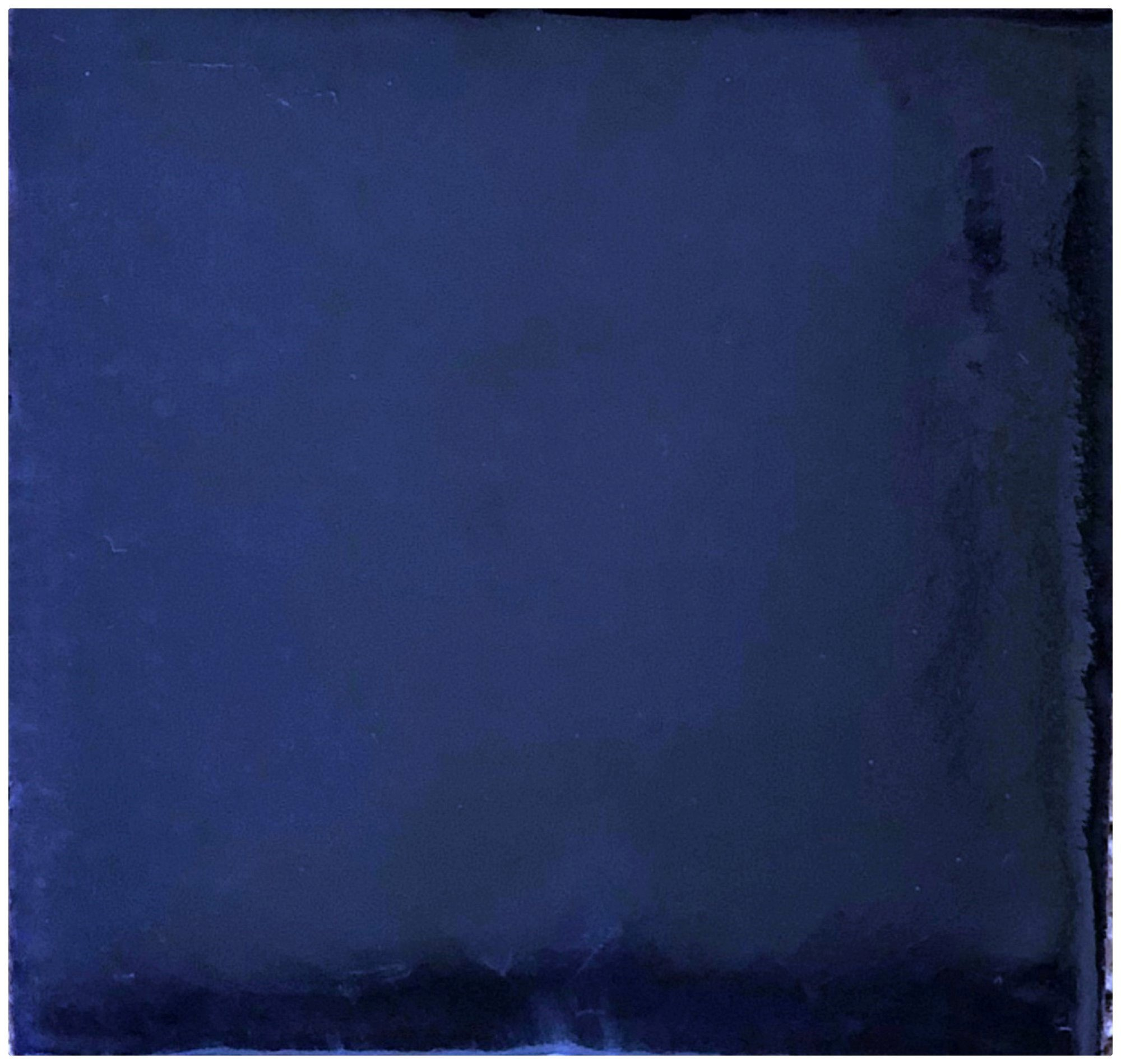 Rustico Tile and Stone TR4COBALT Cobalt Blue Painted Tile Box of 90 4 x 4'', Navy