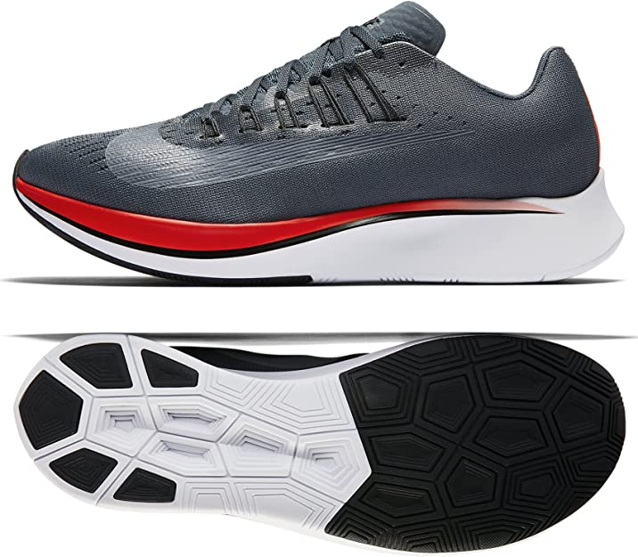 Amazon.com | Nike Mens Zoom Fly Fabric Low Top Lace Up Running | Track & Field & Cross Country