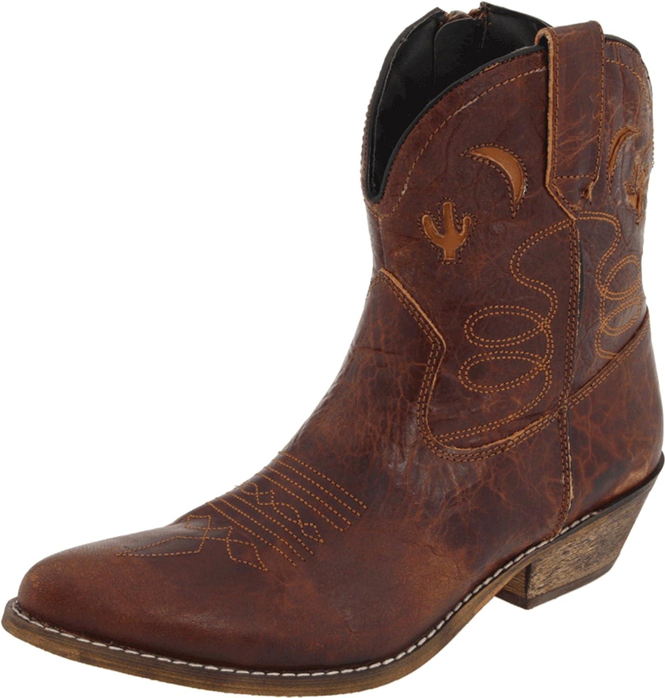 7a4c229d731 Dingo Women's Adobe Rose Leather Boots