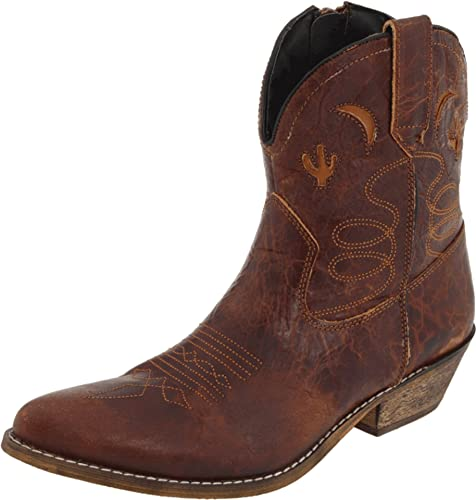df295e0ece5 Dingo Women's Adobe Rose Leather Boots