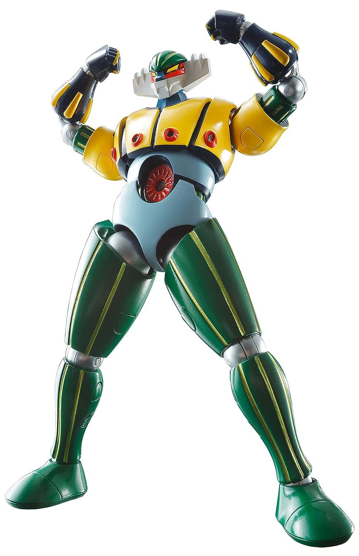 スーパーロボット超合金 鋼鉄ジーグ 約130mm ABS&PVC&ダイキャスト製 塗装済み可動フィギュア   B01DK4SCIO