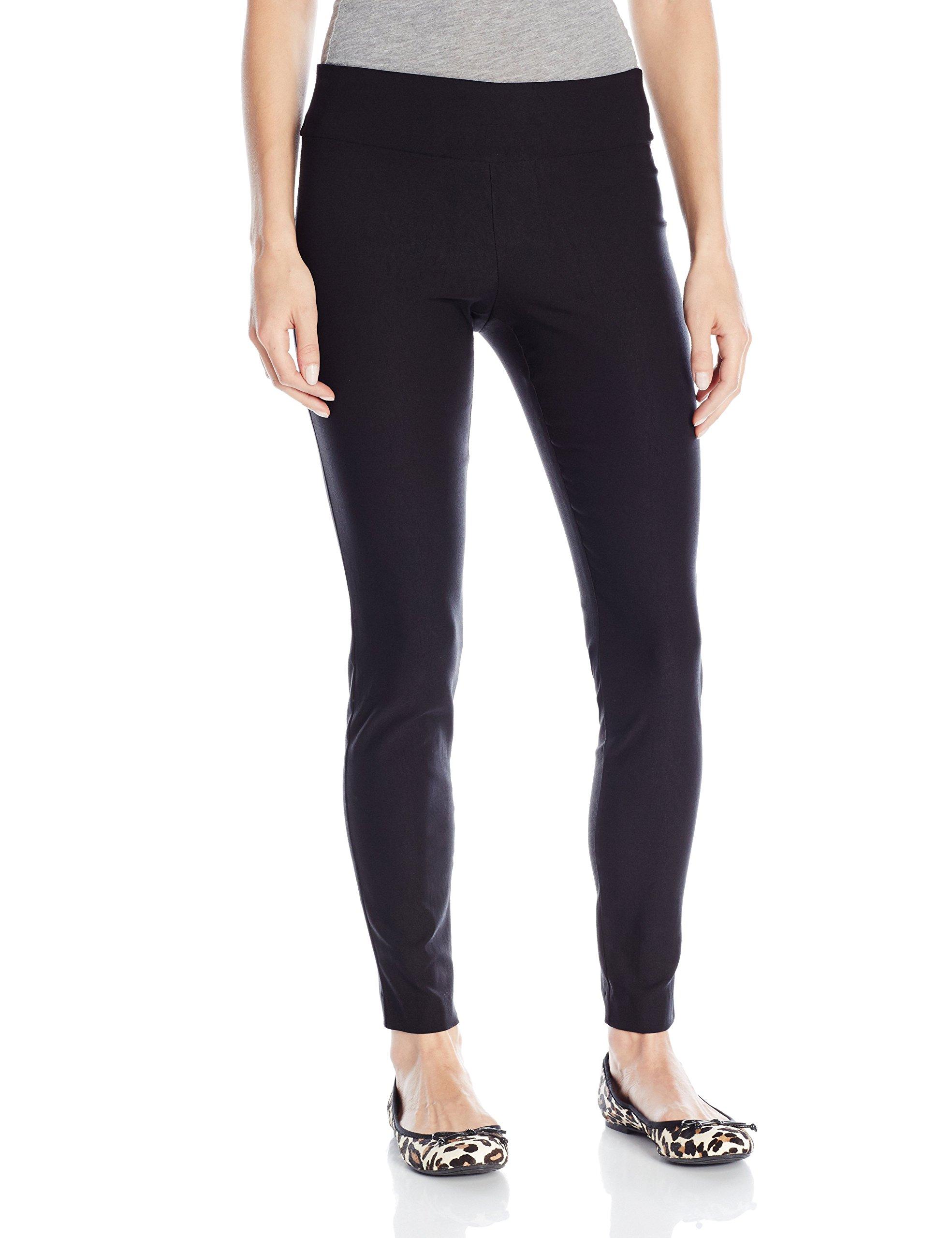 A. Byer Juniors Skinny Pull on Pant, Black, Medium