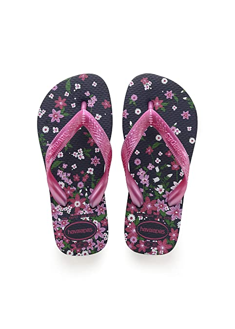 1624683d8ad5 Image Unavailable. Image not available for. Color  Havaianas Kids Flores  Sandal (Toddler Little Kid) ...