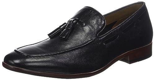 grossiste 25d48 7a2ba ALDO Zoacien, Mocassins Homme, Noir (Jet Black 1 Leather ...