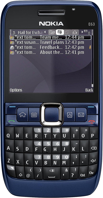 Nokia E63 - Móvil libre (110 MB de capacidad, teclado QWERTZ ...