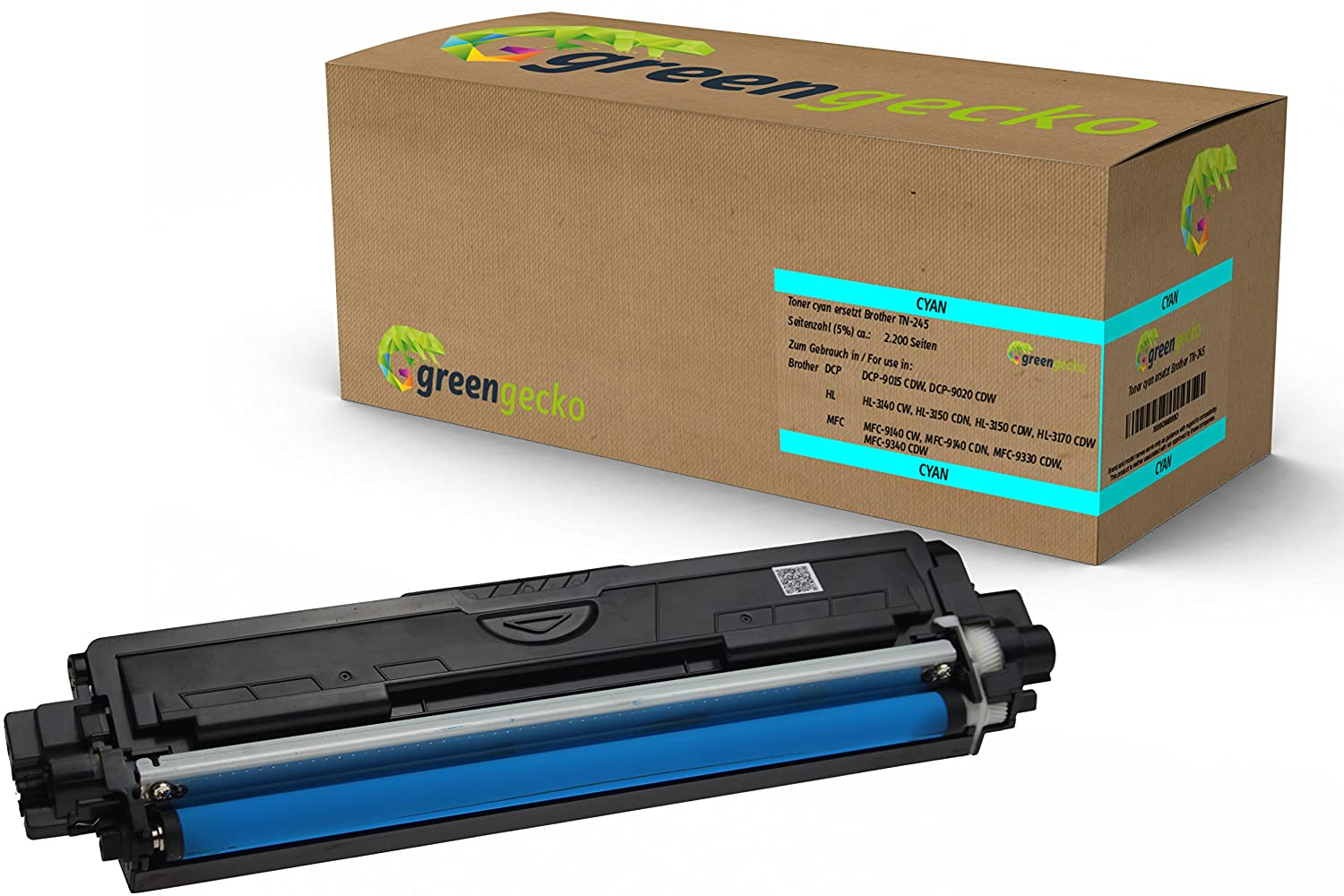 Toner sustituie Brother TN-245 / para Brother DCP-9020-CDW, HL ...