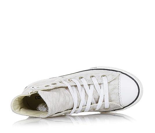 9d16408ed75a7 Converse - Converse Ctas Side Zip S Scarpe Sportive Pelle Beige Oro   Amazon.it  Scarpe e borse
