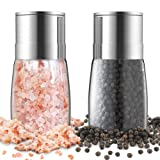 Amazon Price History for:Planet Homeware Stainless Steel Combo Salt and Pepper Grinder Set