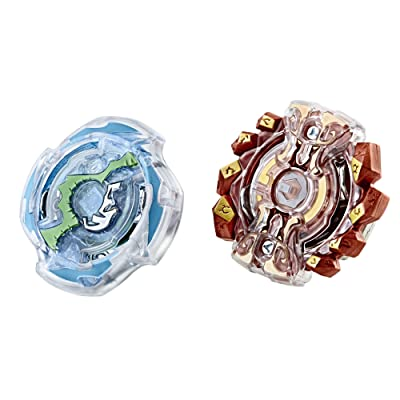 Beyblade Burst Dual Pack Gaianon G2 and Doomscizor: Toys & Games