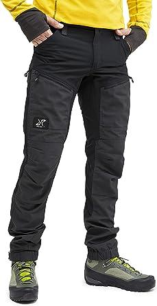 RevolutionRace Pantalones impermeables para hombre transpirables y duraderos, para senderismo, trekking, camping, escalada y caza