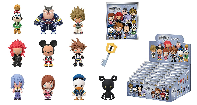 Disney Kingdom Hearts Collectible Blind Bags Key Chain Ebay