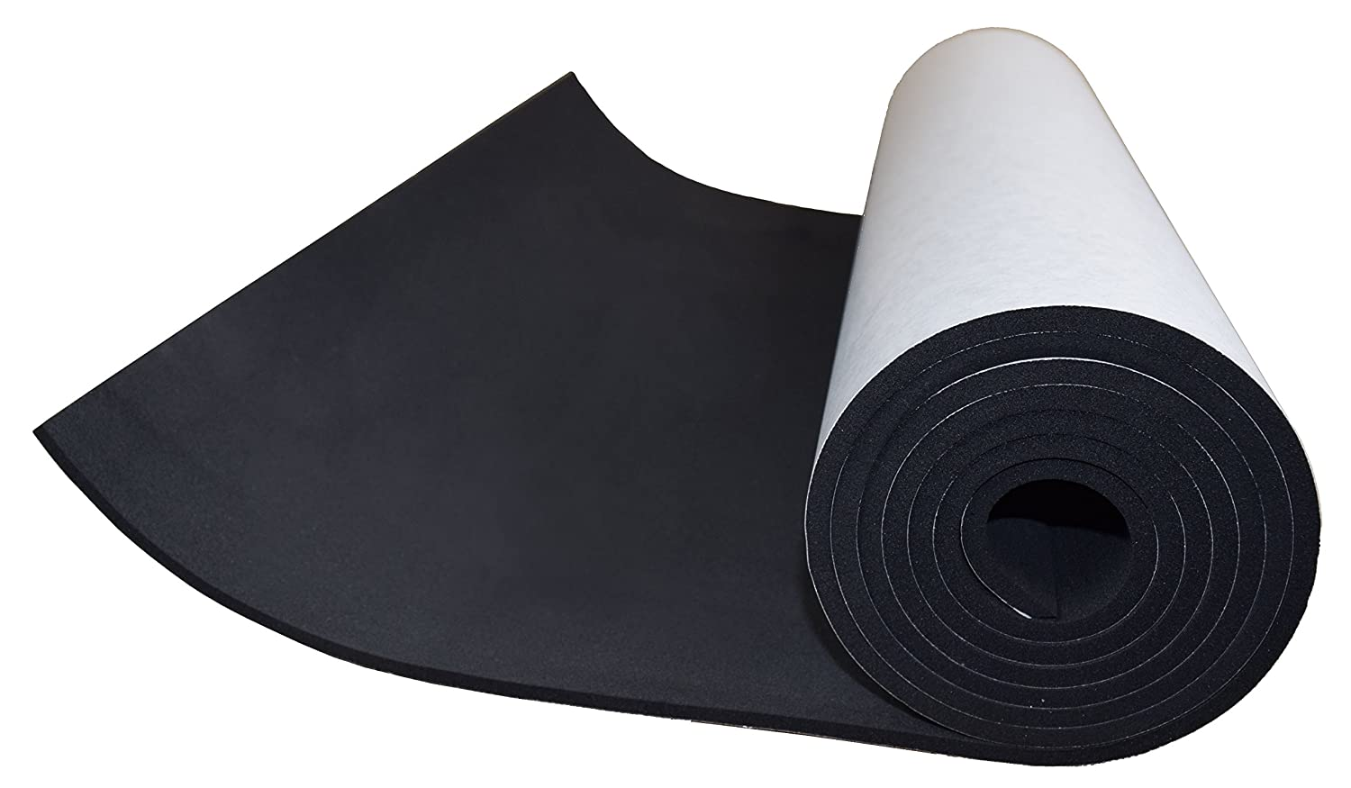 XCEL Sponge Neoprene Sheet with Adhesive 72 in x 17 in x 1 4 in