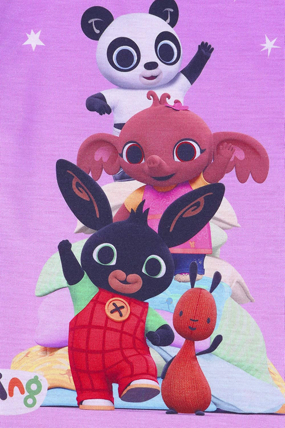 Official Bing The Bunny and Friends Short Girls Pink Pyjamas