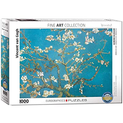 Eurographics Almond Branches by Vincent Van Gogh 1000-Piece Puzzle: Toys & Games