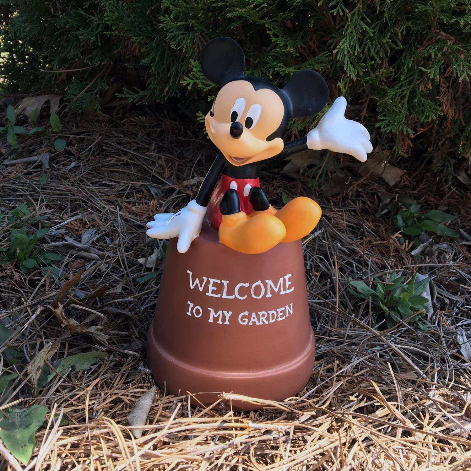 The Galway Company Mickey Mouse Key Hider Pot Diversion, Licensed Classic Disney Collection, Hand-Painted