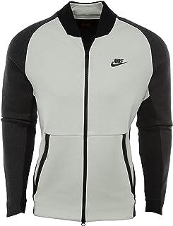 Nike Track Top Sportswear Tech Fleece Varsity Bianco Sporco/Nero Formato: M (Medium)