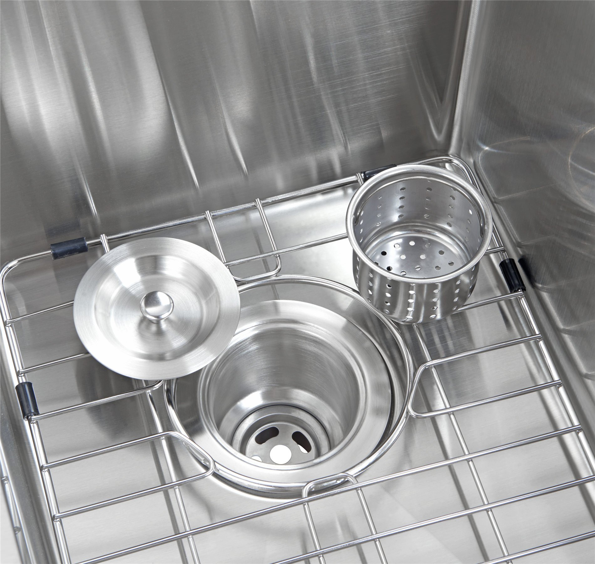 33x21 Inch Farmhouse Apron 60/40 Deep Double Bowl 16 Gauge Stainless Steel Luxury Kitchen Sink SuperSuper by SuperSuper (Image #5)