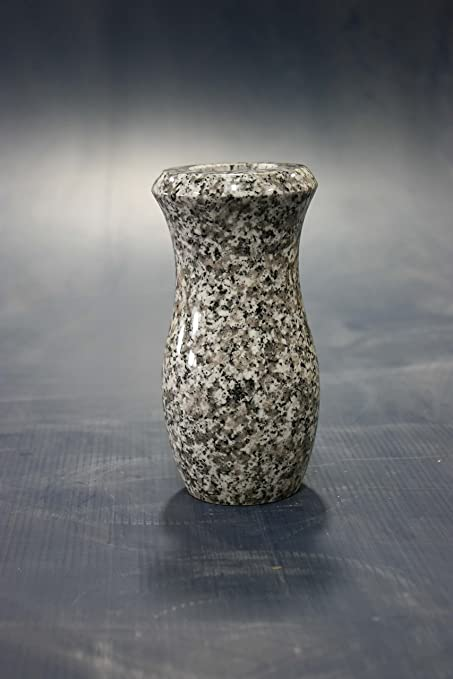 Amazon 7x4 D Plum Rose Granite Monument Vase Cemetery Tombstone