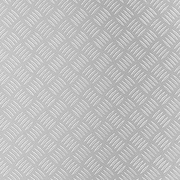 Büro & Schreibwaren Grillunterlage Bodenschutzmatte Grillschutzmatte Mit Riffelblechoptik Schwarz Büromöbel