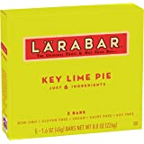 Larabar Gluten Free Bar, Key Lime Pie, 1.6 oz Bars (5 Count)