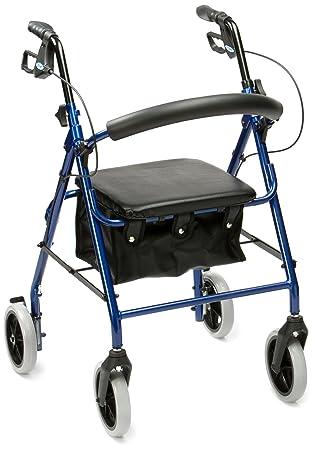 Drive Medical R8BL-23 - Asiento con andador (acolchado, aluminio ...