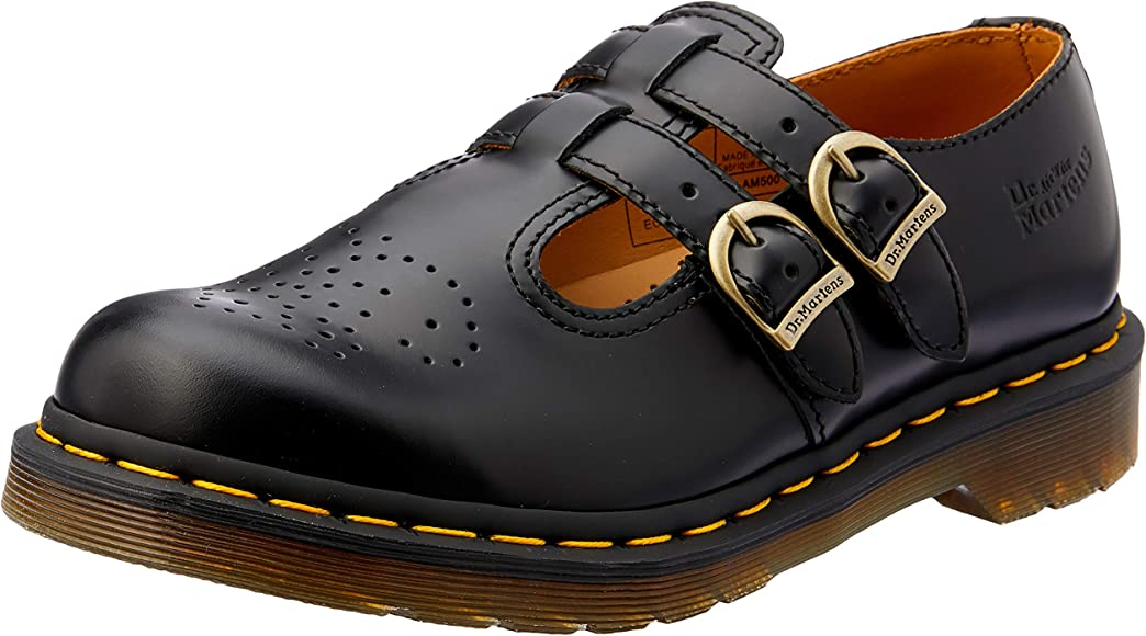 DR. MARTENS 8065 2 Buckle Strap Mary Janes Shoes Women's Sz 6 (Made in England) | eBay