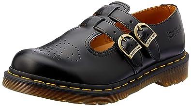 Dr Martens Women's 8065 Mary Jane Buckle Leather Shoe Black