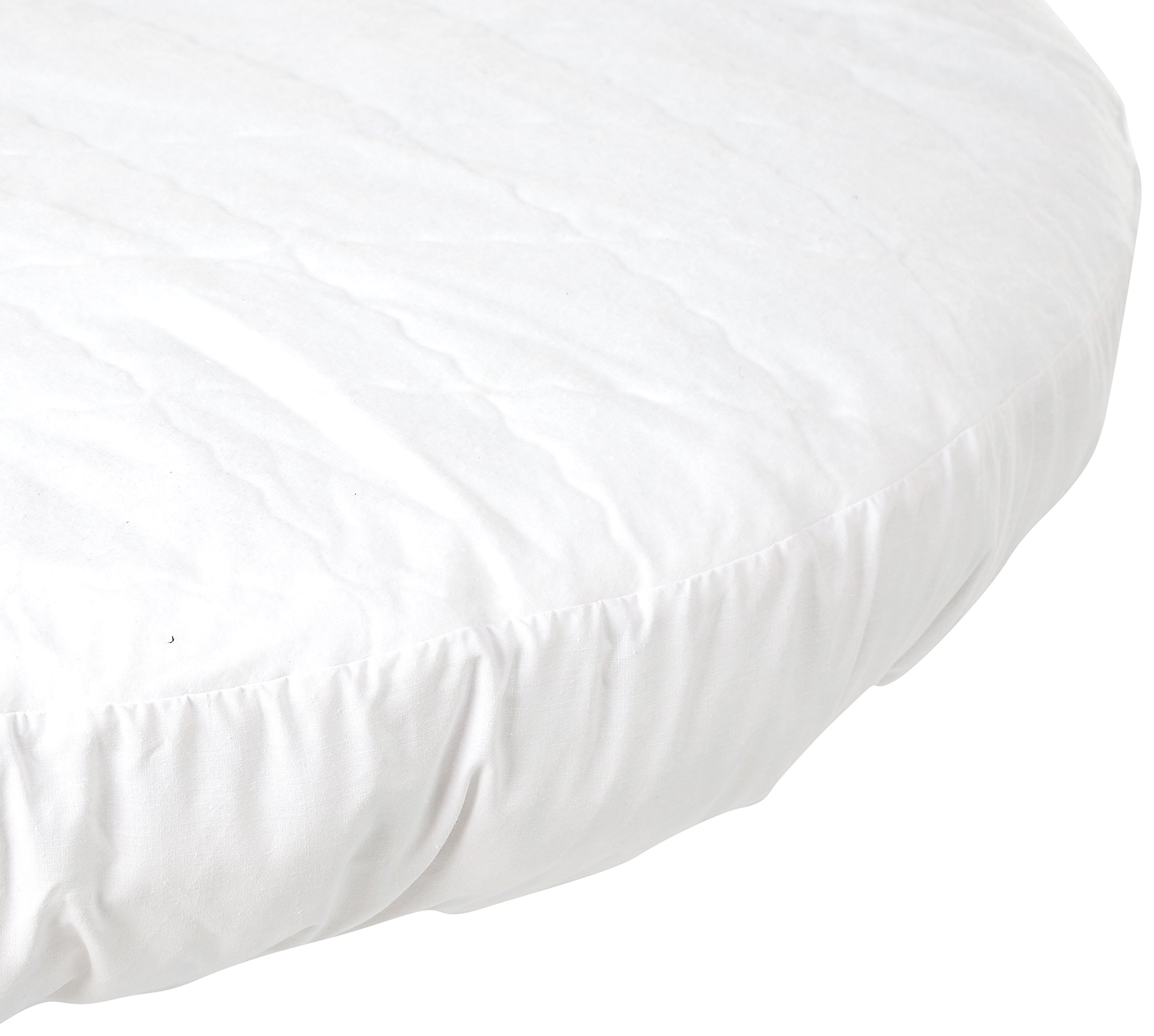 Baby Doll Round Crib Waterproof Mattress Protector by Baby Doll