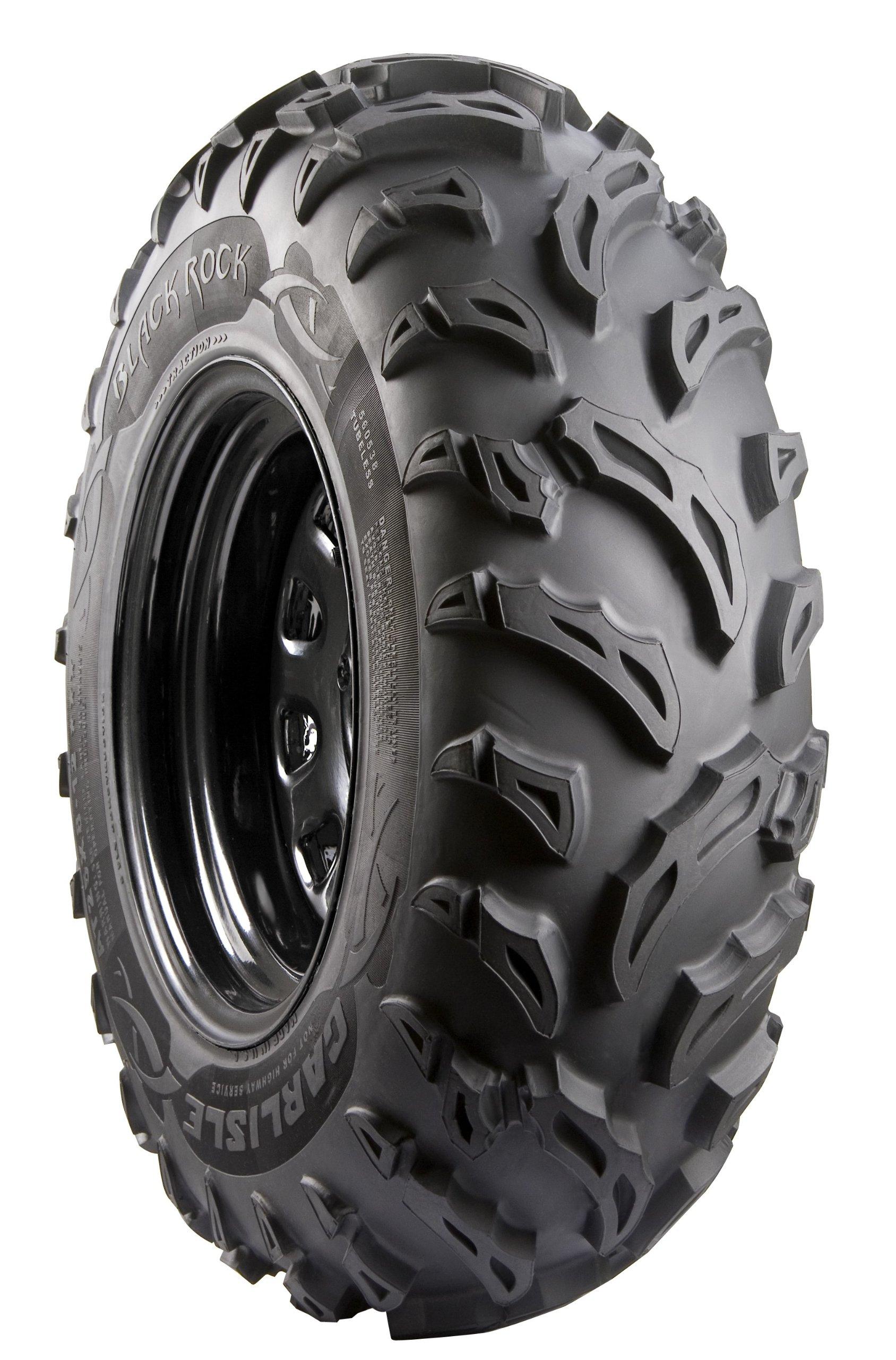 Carlisle Black Rock ATV Tire - 25X8-12