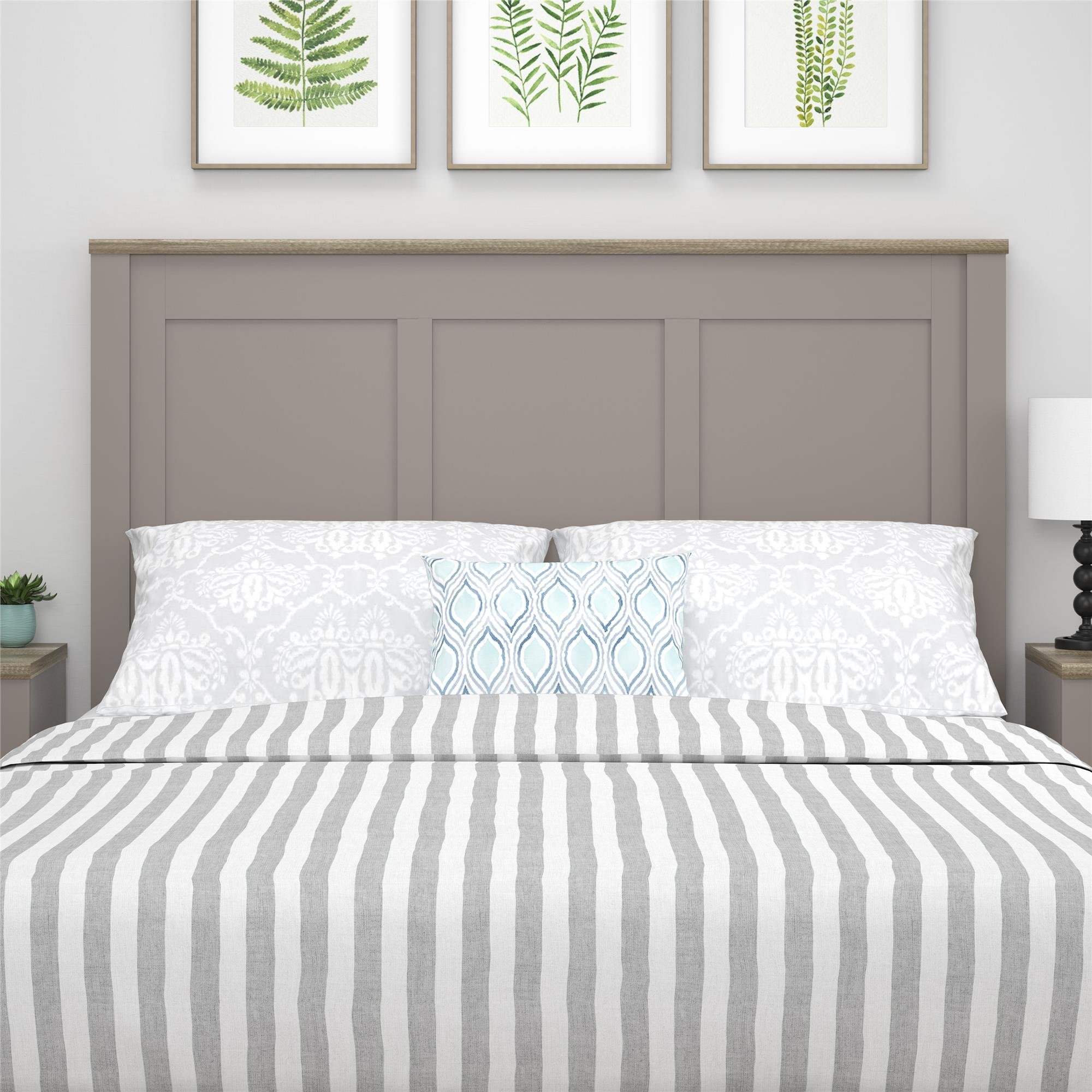 Ameriwood Home Carver Headboard, Queen, Gray by Ameriwood Home