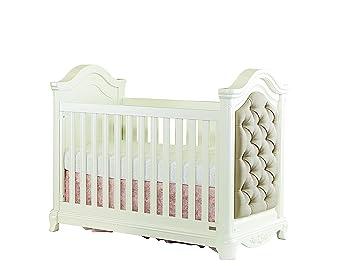 Bassett Baby Kids Addison 3 In 1 Convertible Crib Pearl White