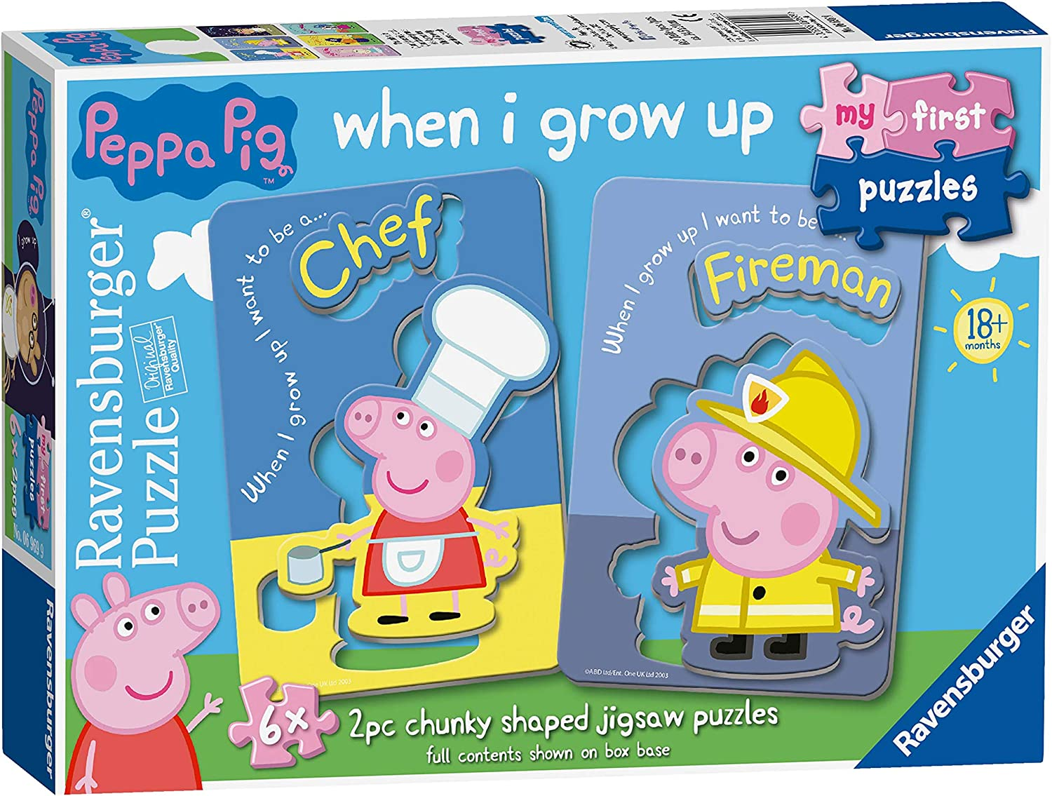 Peppa Pig My First Floor Puzzle
