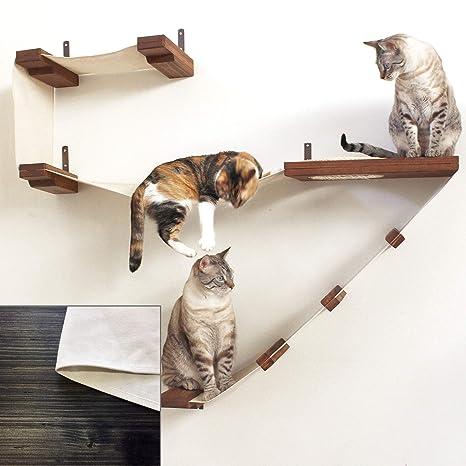 Amazon.com: CatastrophiCreations – Hamaca para gatos y ...