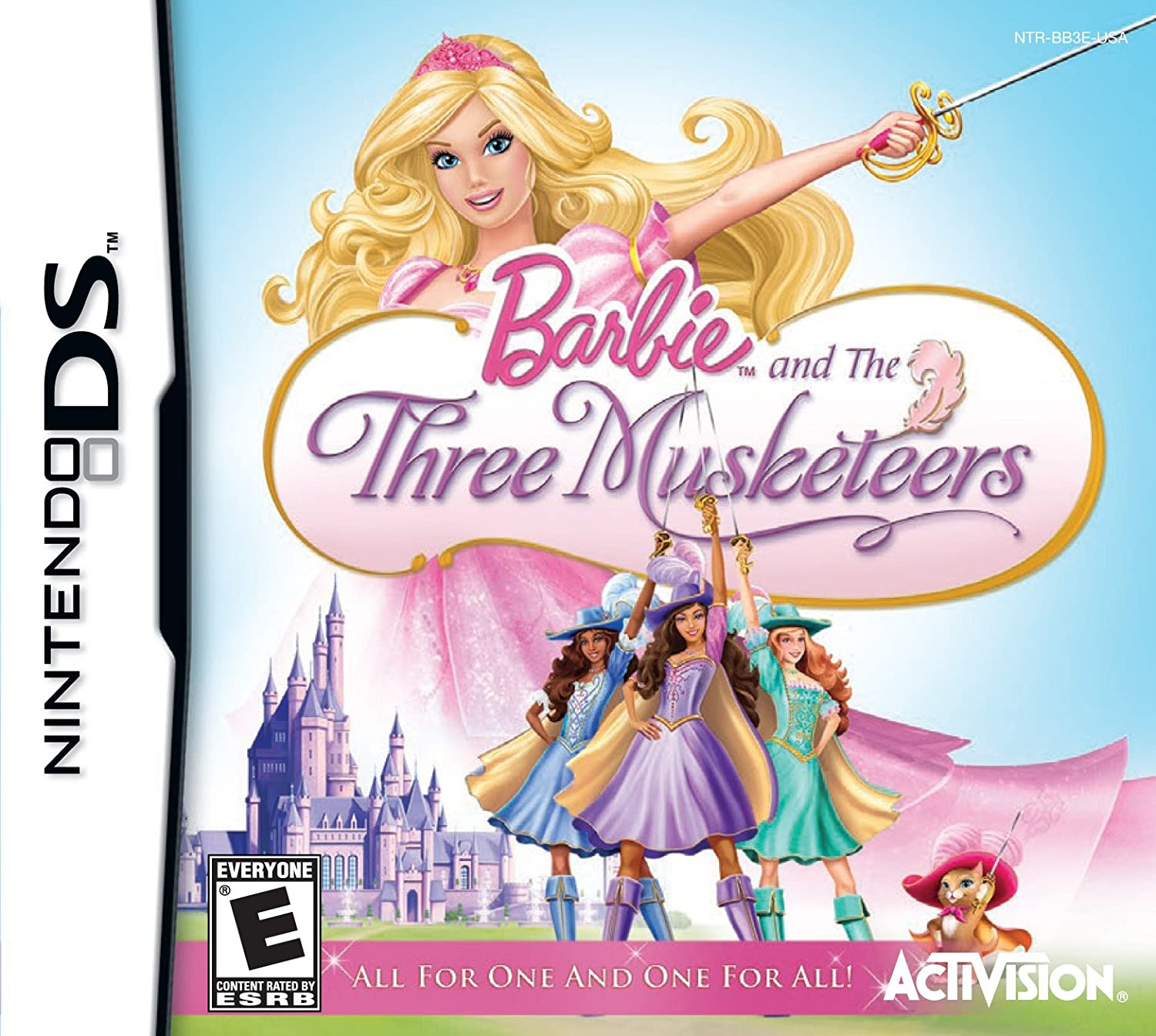 Amazoncom Barbie and the Three Musketeers  Nintendo Wii Video