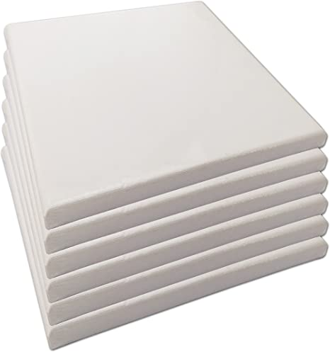 LWR Crafts Stretched Canvas 12 X 18 Pack of 4