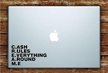 Amazoncom Cash Rules Everything Around Me Cream Laptop Apple