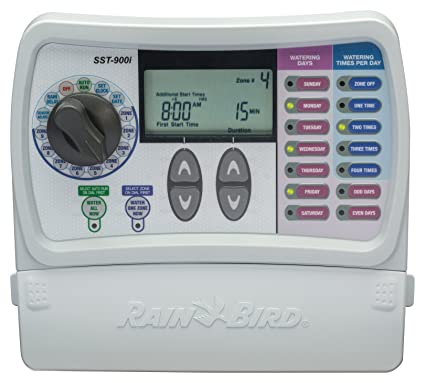 Rain Bird SST900I Simple to Set Indoor Timer, 9-Zone (Discontinued Rain Bird Sst I Wiring Diagrams on