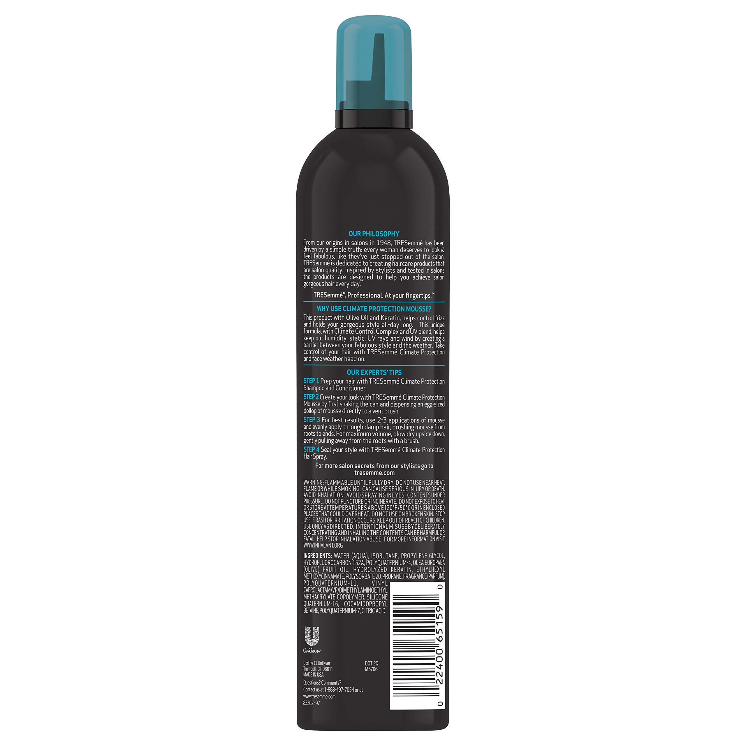 TRESemme Climate Control Mousse, 10.5 Ounce (Pack of 6) by TRESemme (Image #2)
