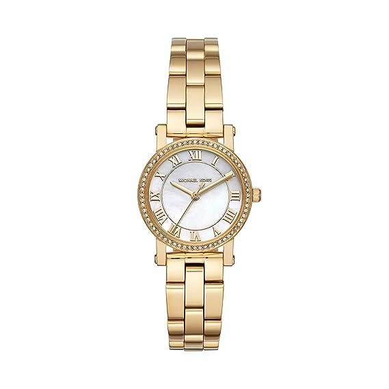 Michael Kors Reloj Analógico para Mujer de Cuarzo con Correa en Acero Inoxidable MK3682: Amazon.es: Relojes