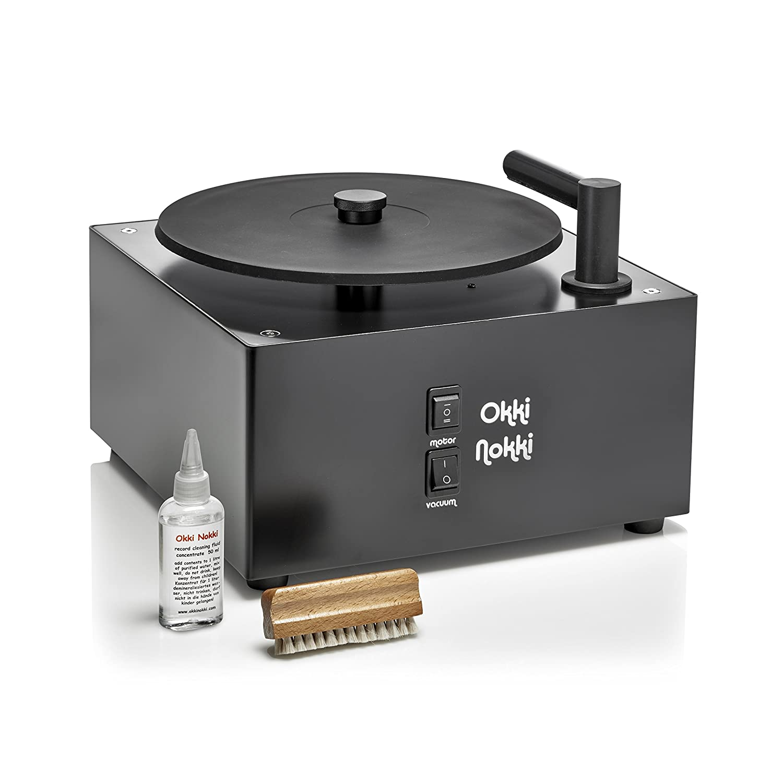 Okki Nokki Record Cleaning Machine (Black): Amazon.es: Electrónica