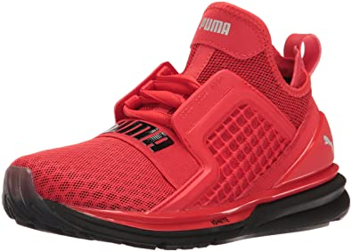 bfe76713ecfe PUMA Ignite Limitless Jr Chukka High Risk Red