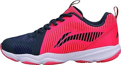 Li Ning AYTN062-2 Ranger TD - Zapatillas de bádminton para Mujer, Color Rojo y Negro: Amazon.es: Zapatos y complementos