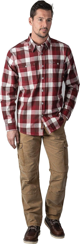 Walls Men's Tulsa Mall Longhorn Long Sleeve Shirt Stretch Midweight Max 83% OFF Flannel