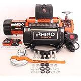 12v 4 x 4 Treuil de récupération 13000lb - top qualité- rigide- deux télécommandes